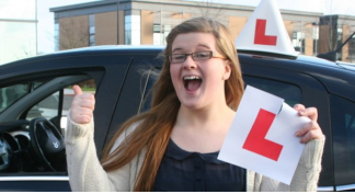 Successful Monarch Driving School Student Driver